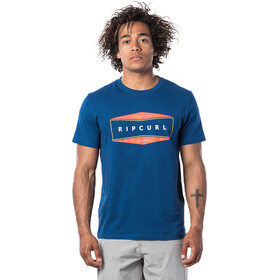 Rip Curl Neon T-shirt Herrer, indigo